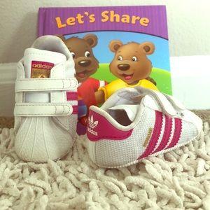 Adidas infant Superstars